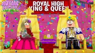 LITTLE LEAH IST CROWNED PROM QUEEN w / HER PROM KING BOYFRIEND!! Roblox Rollenspiel