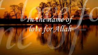 In The Name Of Love For Allah
