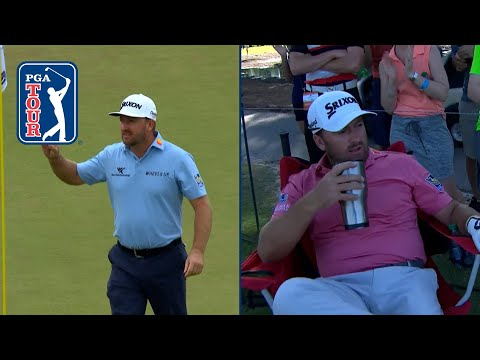 Graeme McDowell's electric eagle hole outs at the Zurich Classic