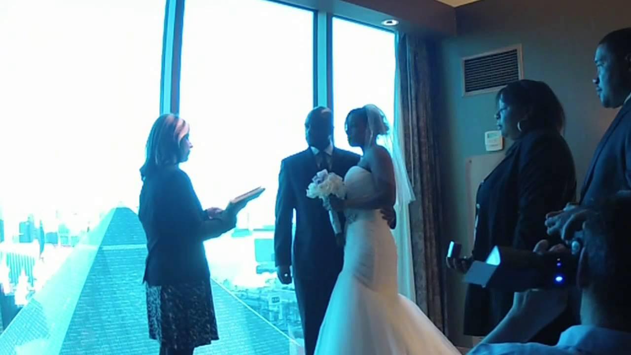 Vegasvowsforfree Wedding Ceremony In Suite Thehotel Las Vegas Nv