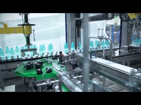 Schubert TLM packaging line