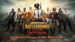 PUBG Mobile Settings You Should Change to Win More Games