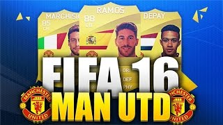 Potential Manchester United FIFA 16 Ultimate Team Squad! FT World Class Signings!