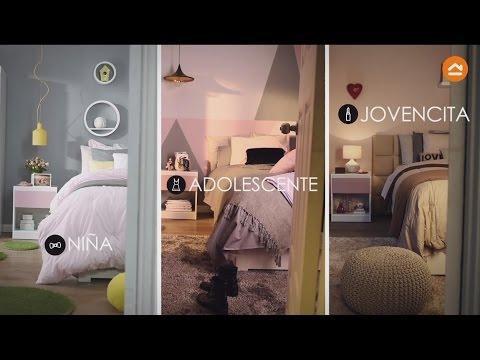Decora una habitación para niña, adolescente y jovencita - YouTube