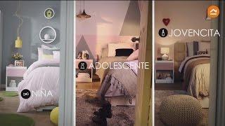 Gambar cover Decora una habitación para niña, adolescente y jovencita