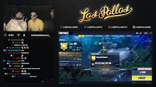 LosPollos Drunk Calls A Girl On Stream At 2am