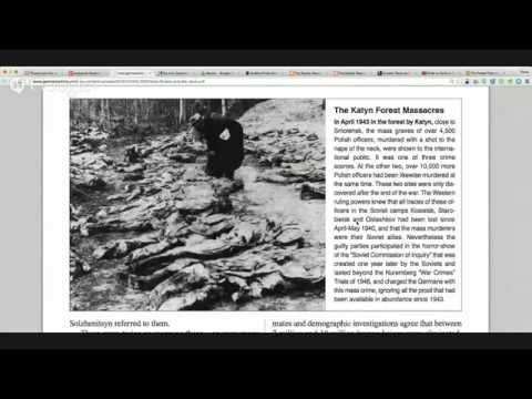 """Aleksandr Solzhenitsyn's """"The Jews in the Soviet Union"""" Pt. 1"""