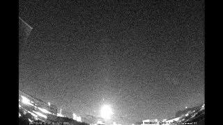 2017年11月21日21時29分の大火球【撮影:平塚市博物館】 火球 検索動画 12