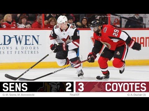 Nov 18: Sens vs. Coyotes - Players Post-game