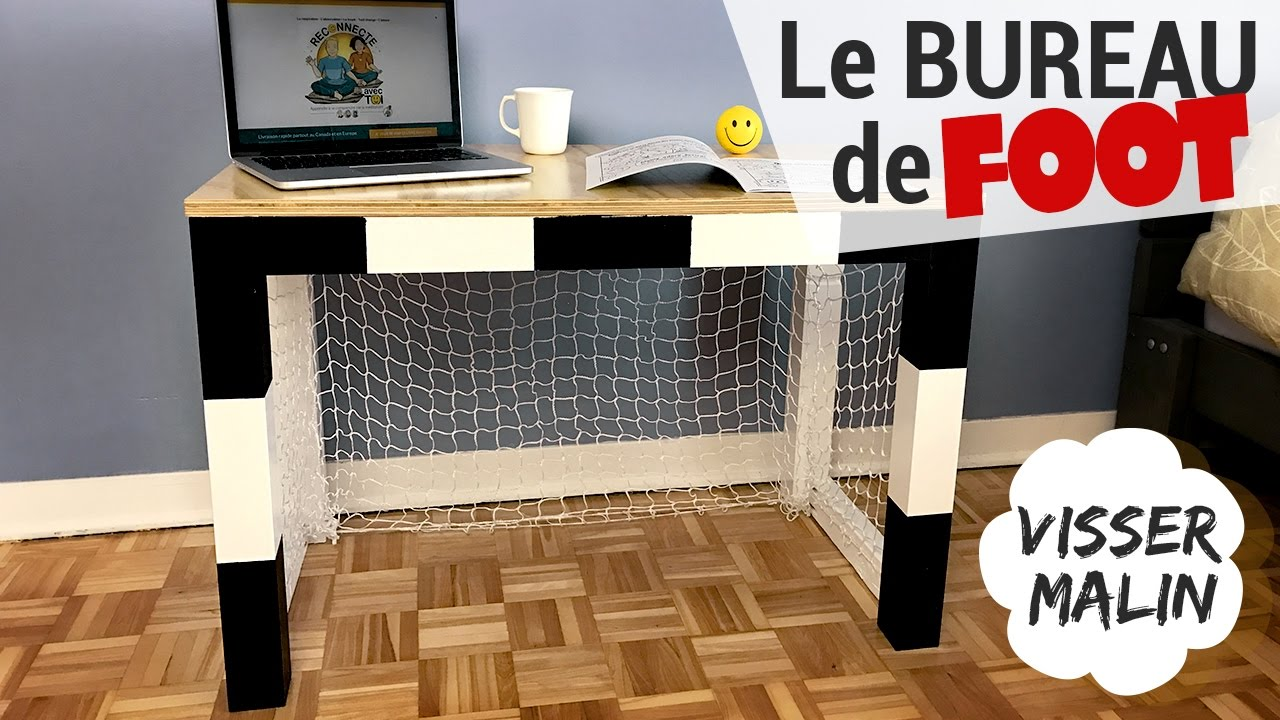 Comment Faire Un Bureau Cage De Foot   EP35
