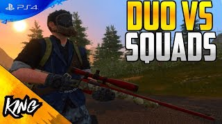 Duo vs Squad win with Pharo! H1Z1 PS4 Gameplay