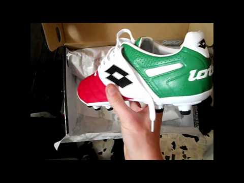 big sale 04a5c b28a3 Unboxing Lotto Stadio Potenza Tricolore - YouTube