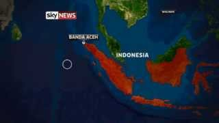 8.7 Magnitude Banda Aceh, Indonesia Earthquake Triggers Indian Ocean Tsunami Warning (Sky)