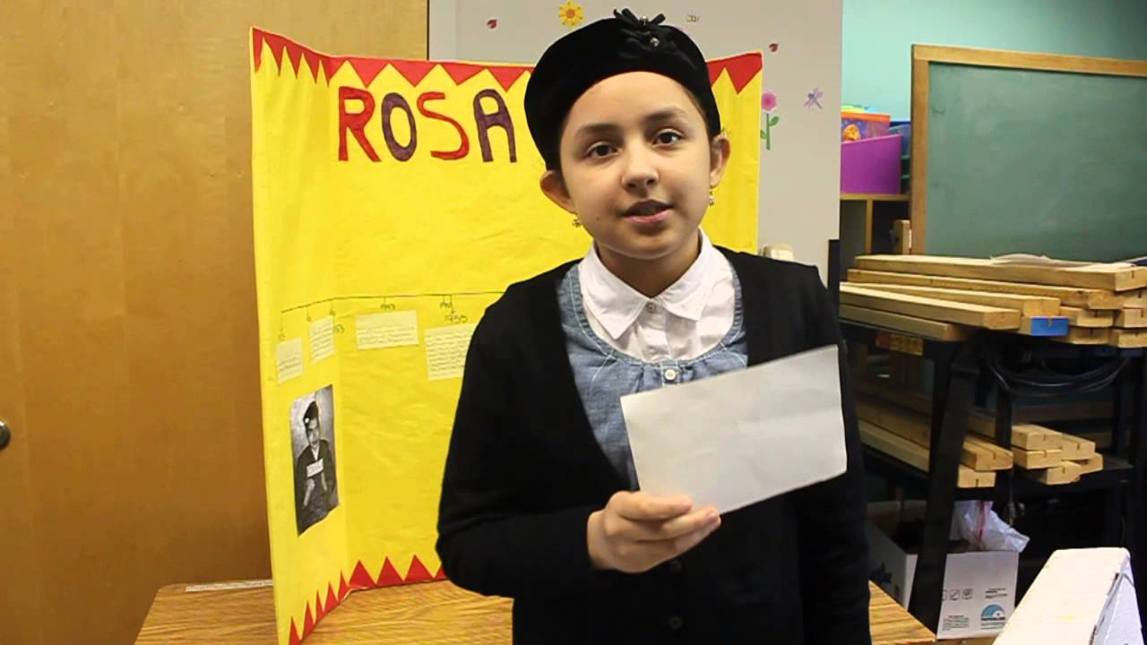 a book report on rosa parks