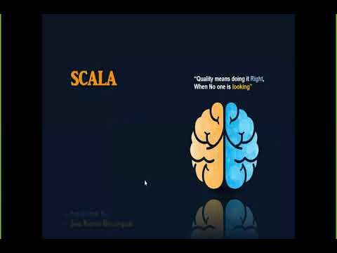 Scala Programming Language Overview v1