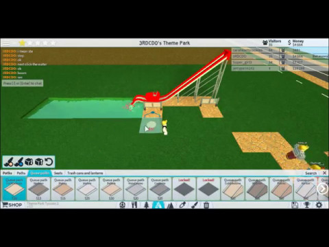 (THEME PARK TYCOON 2) how to build a nuatic jet