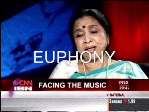 Asha Bhosle sharing about DUM MARO DUM