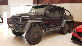 Mercedes G 6×6 Brabus review (Urdu)