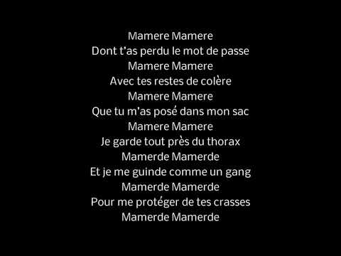 Eddy de Pretto - Mamère (Lyrics)