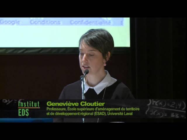 G.Cloutier - Données citoyennes en renfort aux données environnementales pour gestion territoriale