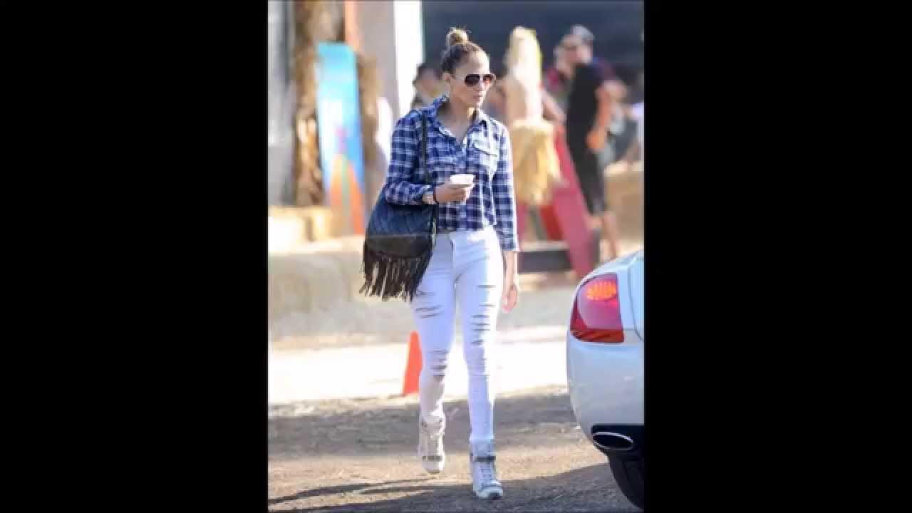 Jennifer Lopez Street Style Youtube