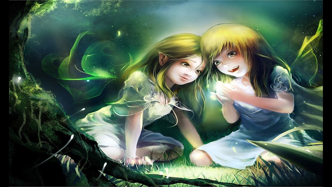 Girl Forest Wallpaper Celtic Fairy Music Fairy Magic Youtube
