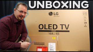 Unboxing: LG 65 OLED EVO G1