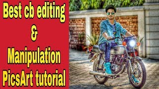 How to manipulation + retouch editing in mobile || jassi gill editing tutorial by worlds of PicsArt