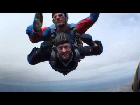 Charity Skydive - Simon Harris
