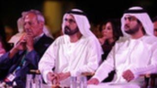 محمد بن راشد يشهد جلسة رئيس مجموعة