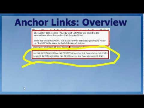 Kindle Book Generator Anchor Links Feature