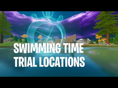 Complete The Swimming Time Trials At Lazy Lake And East Of Hydro 16 Fortnite Dive Challenges