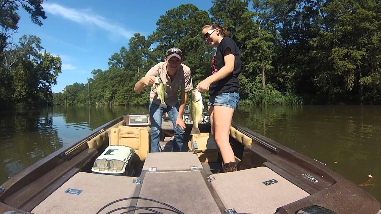 Gopro fishing trip lake houston 4 youtube for Lake houston fishing report
