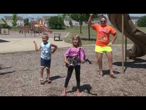 Darius Rucker Wagon Wheel parody music video by Plainfield North kids dance routine PNHS Poms