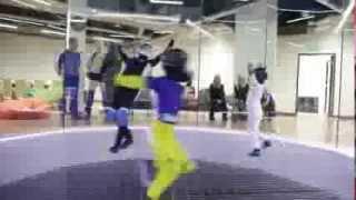 Lot w tunelu aerodynamicznym dla dzieci – Leszno video