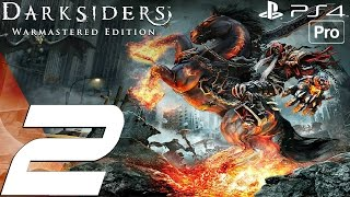 Darksiders Warmastered Edition - Gameplay Walkthrough Part 2 - The Choking Grounds (PS4 PRO)