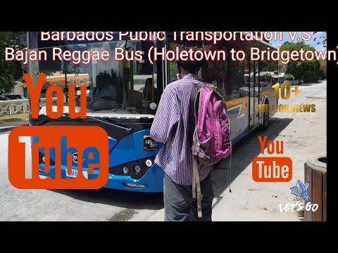 OMG!!!! Luxury on Board Barbados's Public Transportation.....