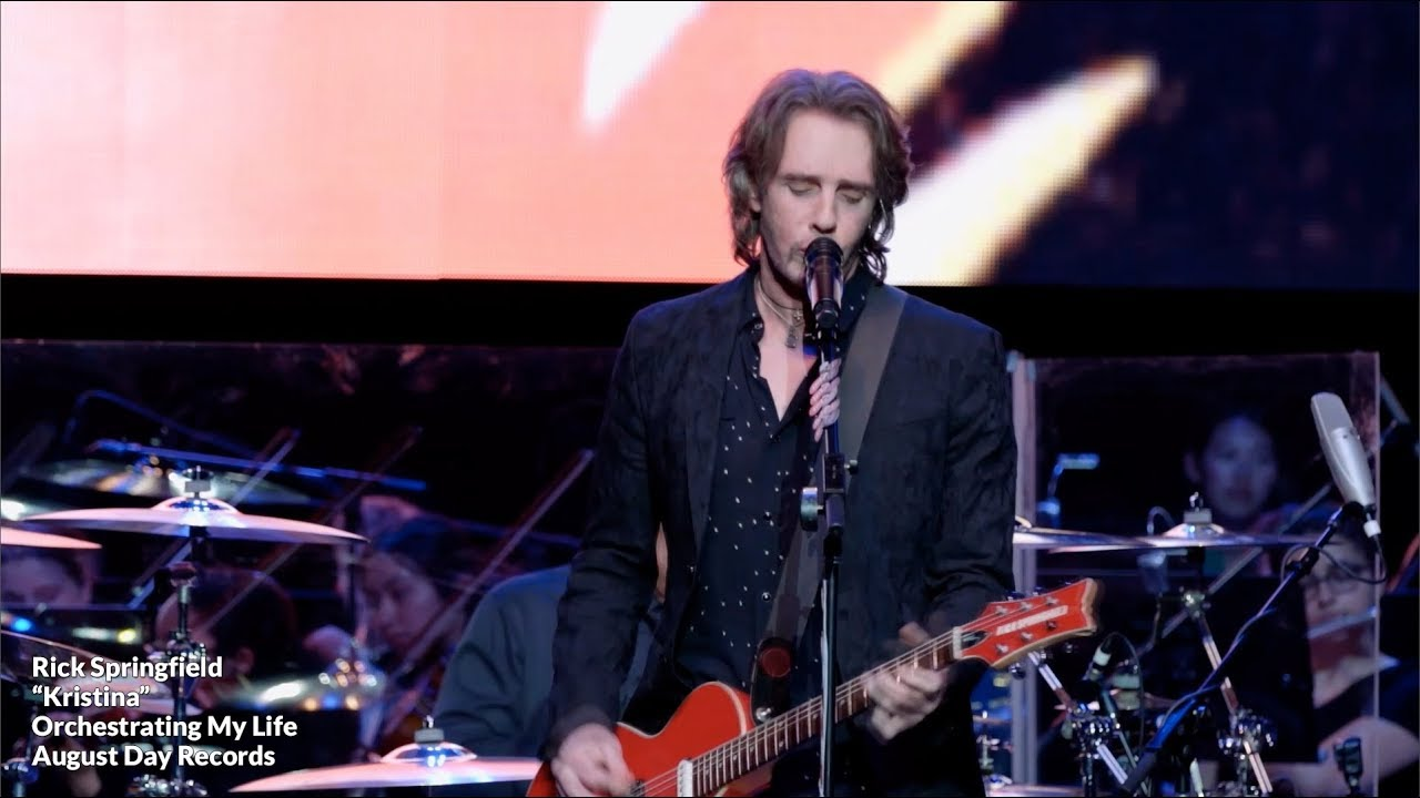 Rick Springfield 'Orchestrating My Life' Streaming Event on 2/14