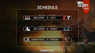 Vainglory 5V5 Show Matches • Southeast Asia • Week 2 Day 2