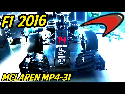 F1 Mclaren MP4-31 Analysis - Lets Talk F1 2016