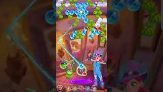 Bubble Witch 3 Saga Level 1157 ~ Fire Charm ~ No Boosters