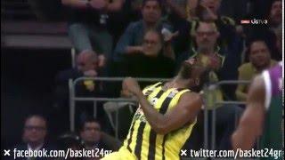 Ekpe Udoh's Euroleague Block Party! (Fenerbahce - Unicaja)