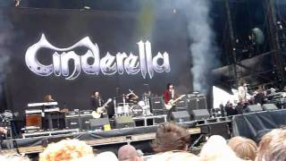 Cinderella Live at Download 2010 Part 1