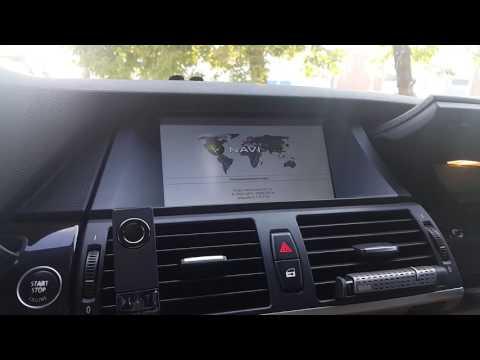 Обзор штатной магнитолы BMW X5 E70 Wince6