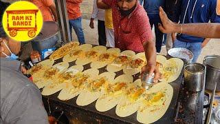 Ram Ki Bandi   Hyderabad's Popular Dosa   Indian Street Foods #foods