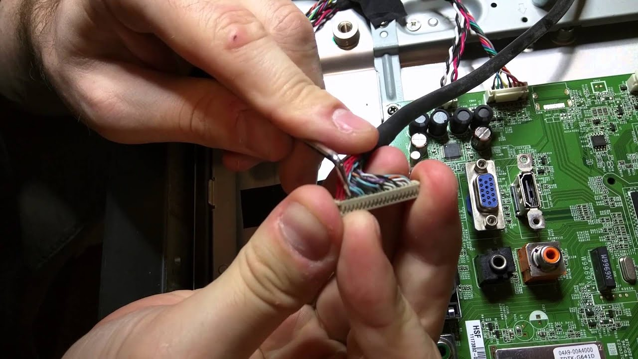 Howto Repair Your Tv Red Green Blue Hue Youtube Toshiba Wiring Diagrams 50hm66 Television