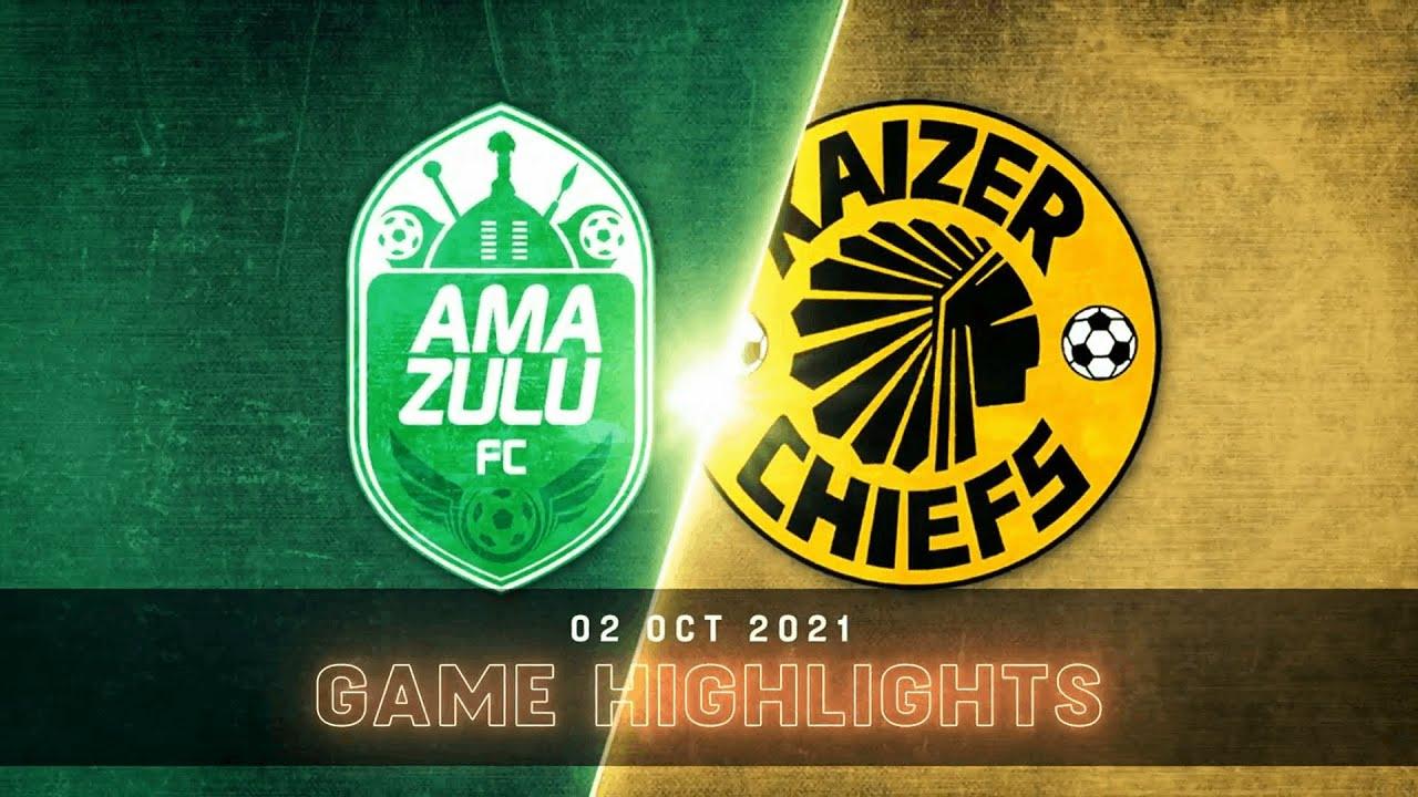 Download DStv Premiership   AmaZulu FC v Kaizer Chiefs   Highlights