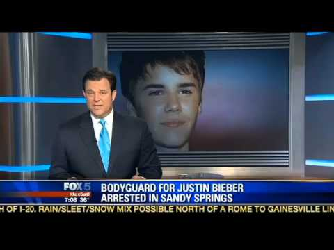 Justin Bieber Bodyguard Arrested and Charged With Felony In Atlanta
