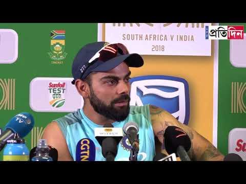 Virat Kohli loses his temper during post-match press conference