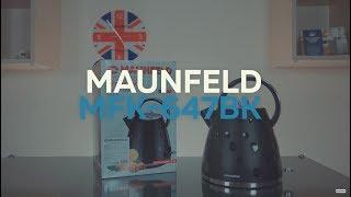Видеообзор электрического чайника MAUNFELD MFK 647BK
